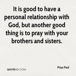 It is good to have a 