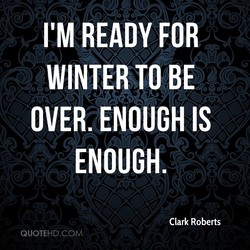 I'M READY FOR 