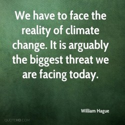 We have to face the 