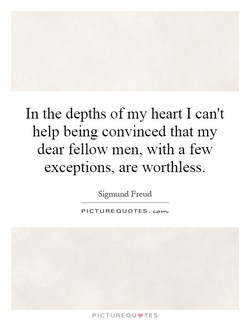 In the depths of my heart I can't