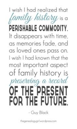 I wish I had realized that 