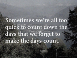 Sometimes we're all too 