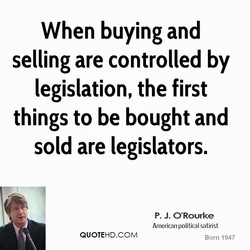 When buying and