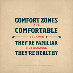 COMFORT ZONES 