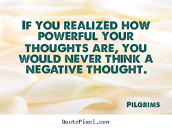 IF YOU REALIZED HOW 
