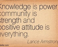 (nowledge is power 