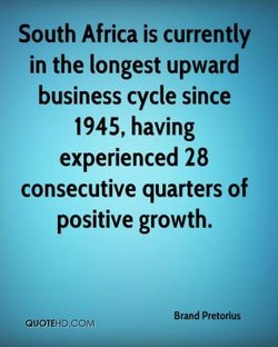 South Africa is currently 
