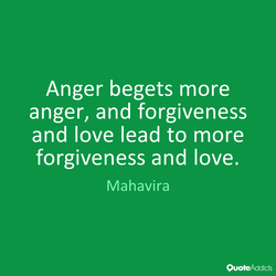 Anger begets more 