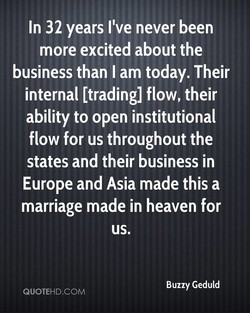 In 32 years I've never been 