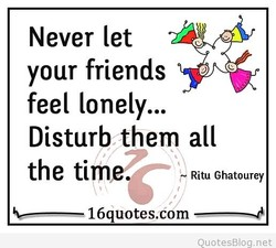 Never let 