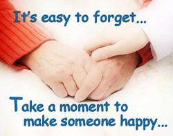 easy to forget...