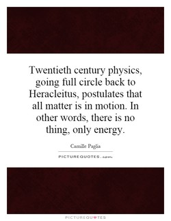 Twentieth century physics, 