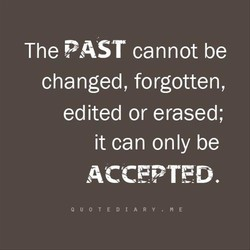 The PAST cannot be