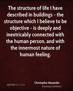 The structure of life I have 