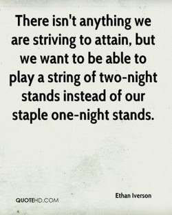 There isn't anything we 