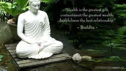 u Health is the greatest,gift, 