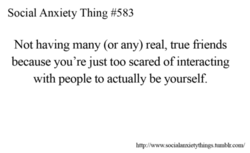Social Anxiety Thing #583 