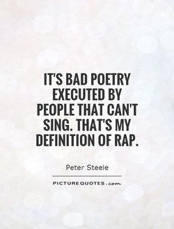 IT'S BAD POETRY 