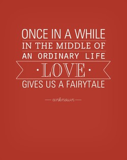 ONCE IN A WHILE 