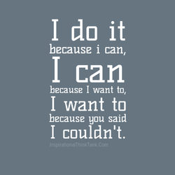 I do it 