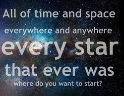All of time and space 