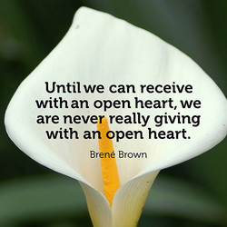 Until we can receive 