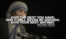GIVETH BEST YOU HAVE 