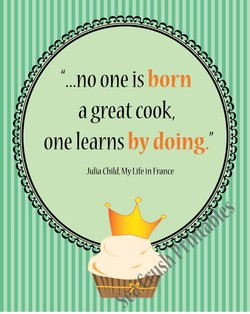 ...no one is born 
