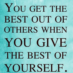 YOU GET THE 