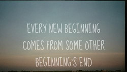 EVERY BEGINNING 