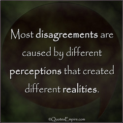Most disagreements are 