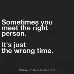 Sometimes vou 