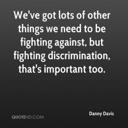 We've got lots of other 