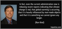 In fact, even the current administration now is 