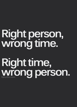 Right person, 