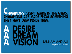 AREN'T MADE IN THE GYMS. 