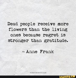 Dead people receive more 