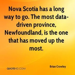 Nova Scotia has a long