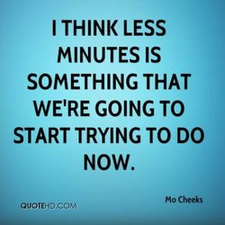 I THINK LESS 