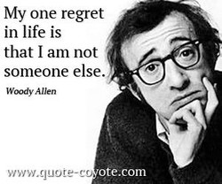 My one regret 