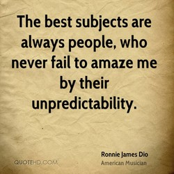 The best subjects are 