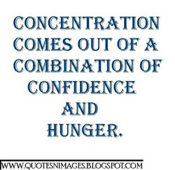 CONCENTRATION 