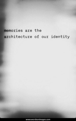 memories are the 