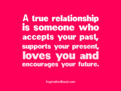A true relationship 