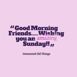 u Good Morning 