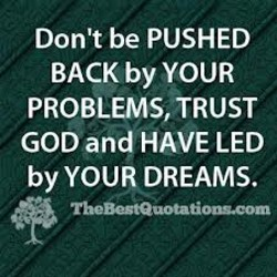Don't be PUSHED 