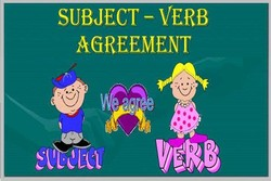 SUBJECT - VERB 