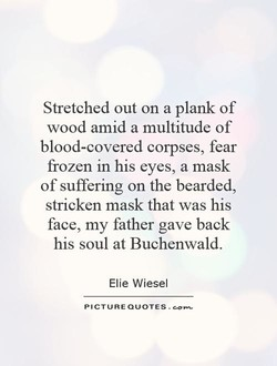 Stretched out on a plank of 
