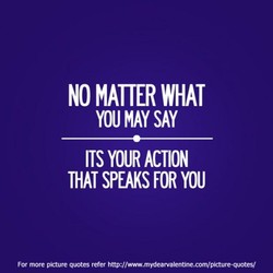 NO MATTER WHAT 