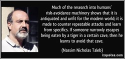 Much of the research into humans' 